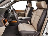 2014 Nissan Armada Front seats from Drivers Side