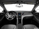 2014 Hyundai Sonata Dashboard, center console, gear shifter view