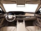2014 Mercedes-Benz S-Class Dashboard, center console, gear shifter view