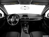 2014 Mazda MAZDA3 Dashboard, center console, gear shifter view