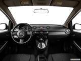 2014 Mazda MAZDA2 Dashboard, center console, gear shifter view
