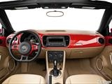 2014 Volkswagen Beetle Dashboard, center console, gear shifter view