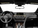 2014 BMW M6 Dashboard, center console, gear shifter view photo
