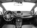 2014 Ford Fiesta Dashboard, center console, gear shifter view