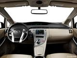 2014 Toyota Prius Dashboard, center console, gear shifter view