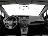 2014 Mazda MAZDA5 Dashboard, center console, gear shifter view
