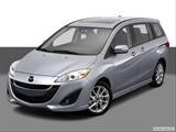 2014 Mazda MAZDA5 Front angle view photo