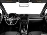 2014 Volkswagen Golf Dashboard, center console, gear shifter view