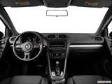2014 Volkswagen Golf Dashboard, center console, gear shifter view