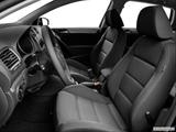 2014 Volkswagen Golf Front seats from Drivers Side