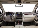 2014 Lexus GX Dashboard, center console, gear shifter view