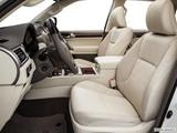 2014 Lexus GX Front seats from Drivers Side