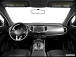2014 Kia Sportage Dashboard, center console, gear shifter view photo