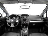 2014 Subaru Impreza Dashboard, center console, gear shifter view