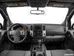 2014 Nissan Frontier Crew Cab Dashboard, center console, gear shifter view photo
