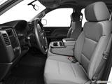 2014 Chevrolet Silverado 1500 Crew Cab Front seats from Drivers Side
