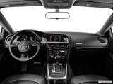 2014 Audi A5 Dashboard, center console, gear shifter view