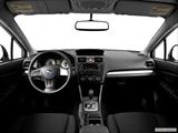 2014 Subaru Impreza Dashboard, center console, gear shifter view