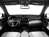 2014 Toyota RAV4 Dashboard, center console, gear shifter view