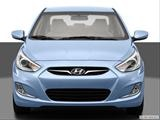 2014 Hyundai Accent Low/wide front photo