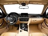 2014 BMW 4 Series Dashboard, center console, gear shifter view