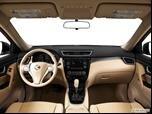 2014 Nissan Rogue Dashboard, center console, gear shifter view photo