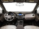2014 Hyundai Tucson Dashboard, center console, gear shifter view
