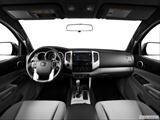2014 Toyota Tacoma Access Cab Dashboard, center console, gear shifter view
