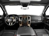 2014 Ram 2500 Mega Cab Dashboard, center console, gear shifter view