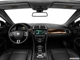 2014 Jaguar XK Series Dashboard, center console, gear shifter view