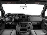 2014 Ford E150 Passenger Dashboard, center console, gear shifter view photo
