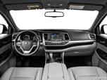 2014 Toyota Highlander Dashboard, center console, gear shifter view photo