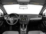 2014 Volkswagen Jetta Dashboard, center console, gear shifter view