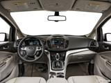 2014 Ford C-MAX Energi Dashboard, center console, gear shifter view