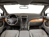2014 Lincoln MKX Dashboard, center console, gear shifter view