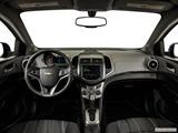 2014 Chevrolet Sonic Dashboard, center console, gear shifter view