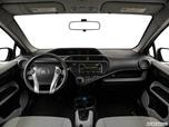 2014 Toyota Prius c Dashboard, center console, gear shifter view photo