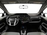 2014 Toyota Prius c Dashboard, center console, gear shifter view