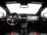 2014 FIAT 500e Dashboard, center console, gear shifter view photo
