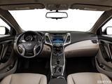 2014 Hyundai Elantra Dashboard, center console, gear shifter view
