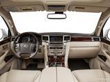 2014 Lexus LX Dashboard, center console, gear shifter view