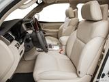 2014 Lexus LX Front seats from Drivers Side