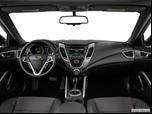 2015 Hyundai Veloster Dashboard, center console, gear shifter view photo