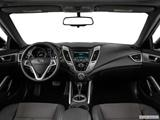 2014 Hyundai Veloster Dashboard, center console, gear shifter view