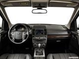 2014 Land Rover LR2 Dashboard, center console, gear shifter view