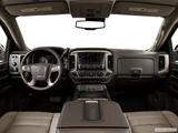 2014 GMC Sierra 1500 Crew Cab Dashboard, center console, gear shifter view