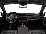 2014 BMW X5 Dashboard, center console, gear shifter view photo