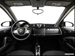 2014 smart fortwo Dashboard, center console, gear shifter view photo