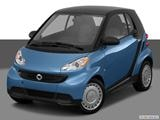 2014 smart fortwo Front angle view photo