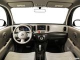 2014 Nissan cube Dashboard, center console, gear shifter view
